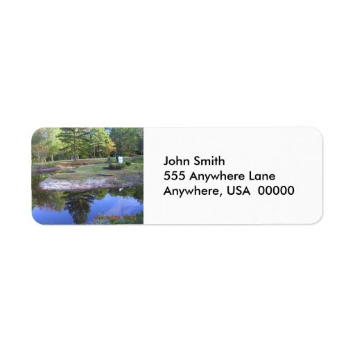 Okefenokee State Park Label