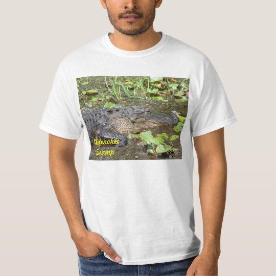Okefenokee Swamp Alligator T-shirt Shirt Waycross