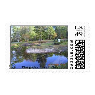 Okefenokee Swamp Park Stamp