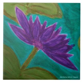 Okefenokee Water Lilies Show Off Ceramic Tiles