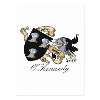 O'Kennedy Family Crest Postcards