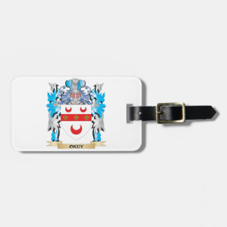 Okey Coat of Arms - Family Crest Travel Bag Tags