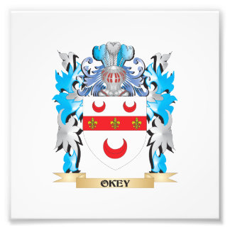 Okey Coat of Arms - Family Crest Photograph