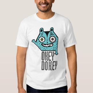 Okey Dokey Monster T Shirt
