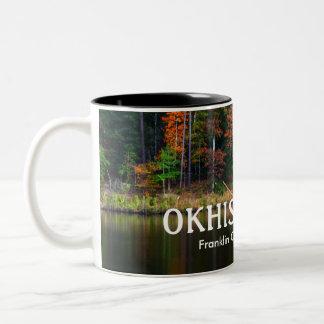OKHISSA LAKE - Beautiful Franklin County, MS Two-Tone Coffee Mug