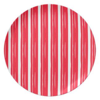 Oki Doki Red Melamine Plate