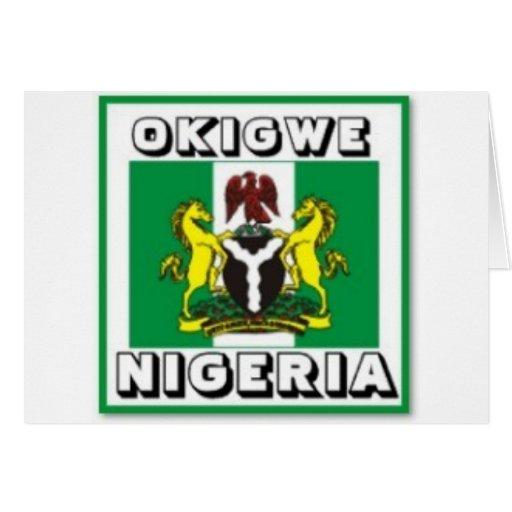 Okigwe, OMI indica el regalo de Nigeria (África) Felicitación