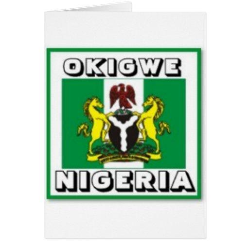 Okigwe, OMI indica el regalo de Nigeria (África) Felicitaciones