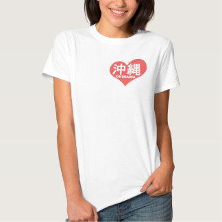 Okinawa Heart Tshirts