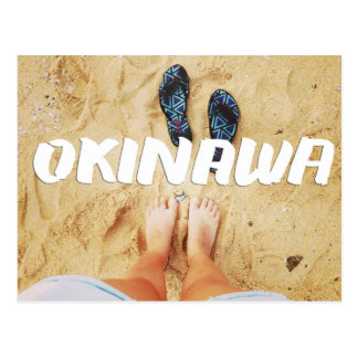 OKINAWA KIMOCHI PHOTOGRAPHY BEACH JAPAN EMEICEA POSTCARD