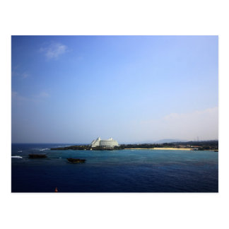 Okinawa sea and sky postcard