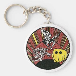 Okinawan Karate Key Chain