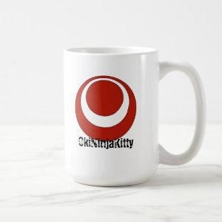OkiNinjaKitty (Okinawa Flag) Coffee Mug
