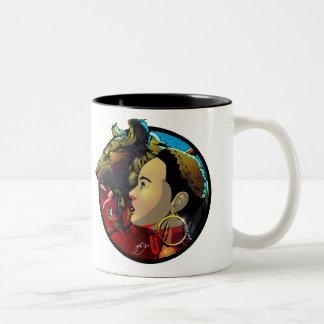 Okira with Pet Mug