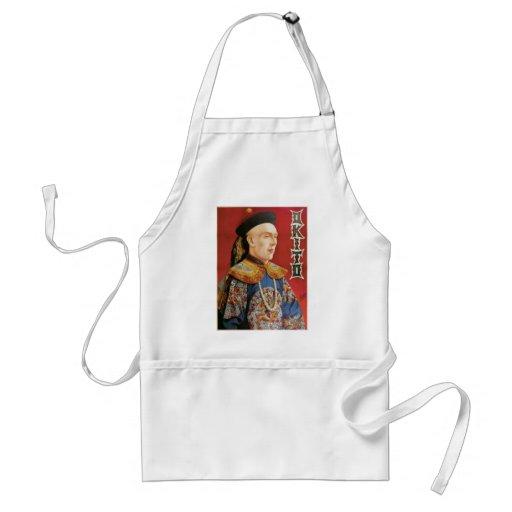 Okito ~ Oriental Magician Vintage Magic Act Aprons