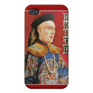 Okito ~ Oriental Magician Vintage Magic Act iPhone 4/4S Cover
