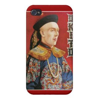 Okito ~ Oriental Magician Vintage Magic Act iPhone 4 Cases