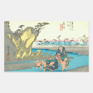 Okitsu Rectangular Sticker