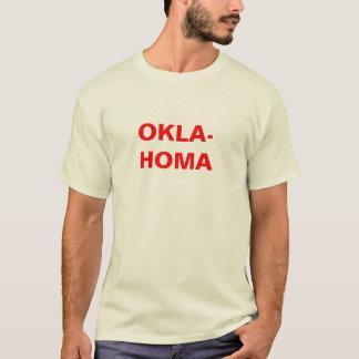 OKLA-HOMA - Red T-Shirt