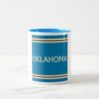Oklahoma 11 oz Ringer Mug