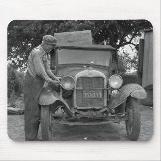 Oklahoma a California, los años 30 Mousepad