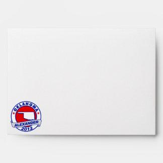 Oklahoma Alexander Envelopes