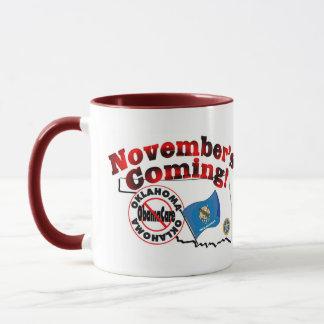 Oklahoma Anti ObamaCare – November's Coming! Mug