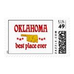 Oklahoma Best Postage Stamp