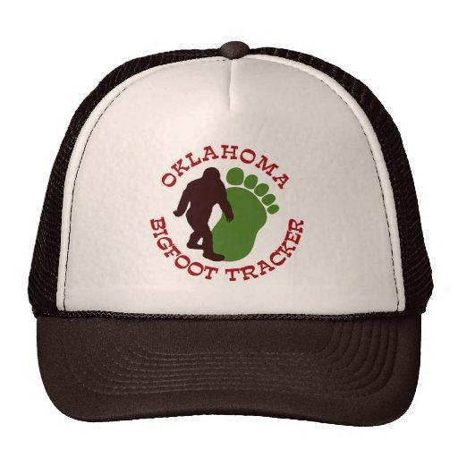Oklahoma Bigfoot Tracker Mesh Hats
