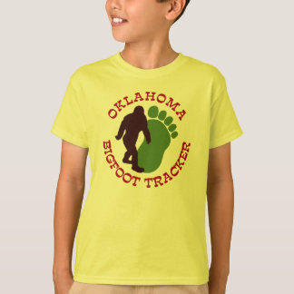Oklahoma Bigfoot Tracker T-Shirt