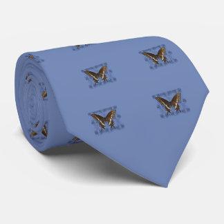 Oklahoma Black Swallowtail Butterfly Neck Tie