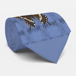 Oklahoma Black Swallowtail Butterfly Tie