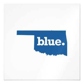 OKLAHOMA BLUE STATE MAGNETIC CARD