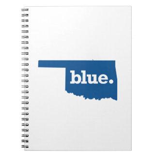 OKLAHOMA BLUE STATE SPIRAL NOTEBOOK