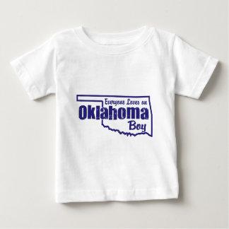 Oklahoma Boy Baby T-Shirt
