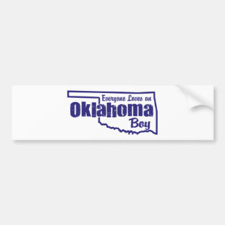 Oklahoma Boy Bumper Sticker