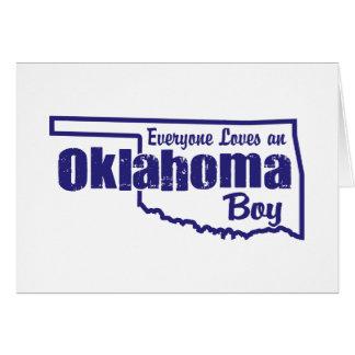 Oklahoma Boy Card