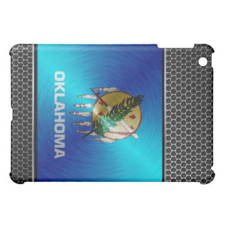 Oklahoma brushed metal flag cover for the iPad mini