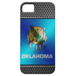 Oklahoma brushed metal flag iPhone 5 covers
