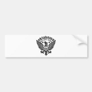 Oklahoma Car Bumper Sticker