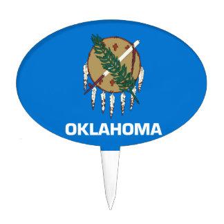 Oklahoma Cake Topper