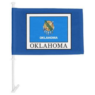 Oklahoma Car Flag