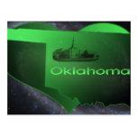 Oklahoma casera tarjeta postal