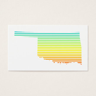 oklahoma chill fade business card