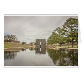 oklahoma city bombing memorial card