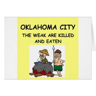 OKLAHOMA city Card