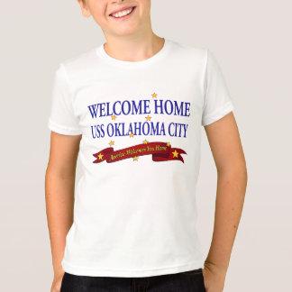 Oklahoma City casero agradable de USS Playera