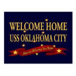 Oklahoma City casero agradable de USS Postales