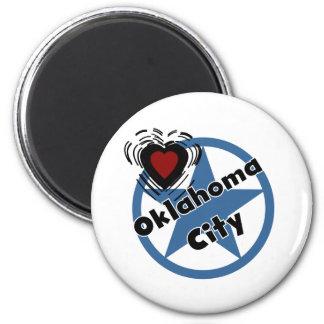 Oklahoma City del amor Imanes