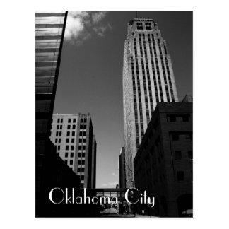 Oklahoma City en el centro de la ciudad abandonado Postal